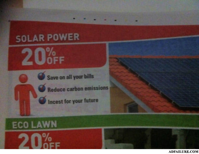 - Solar power made my family horny.