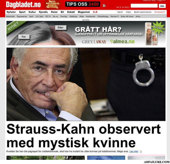 - poor DSK... come now, did he really do it?