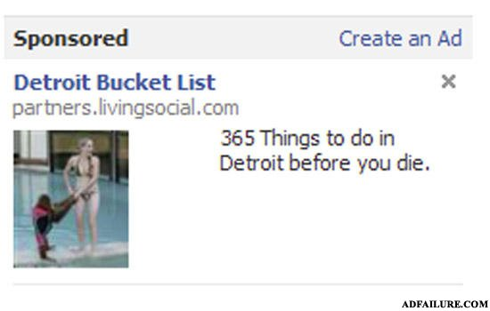 - I don't get it - what's the fail here? bucket list
