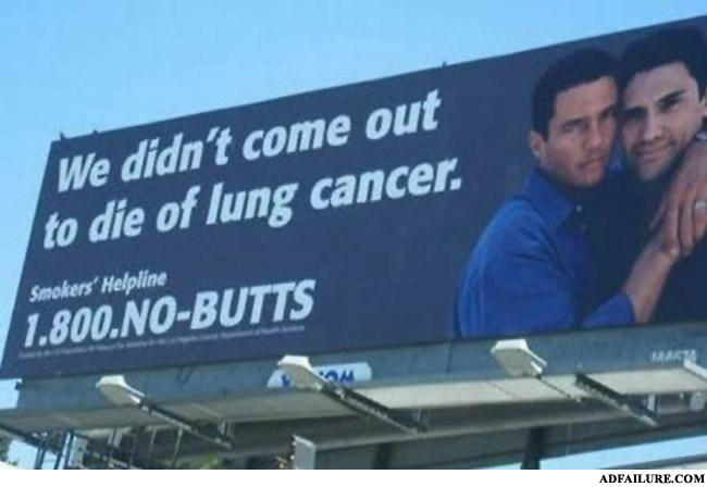 - Wait. What does lung cancer have to do with queers