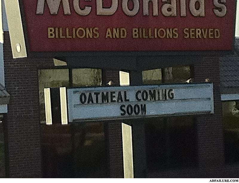 - I can make that oatmeal for the same price everyda