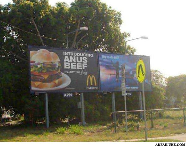 "- It's a typo. It was meant to say ""angus beef"""
